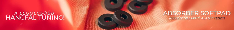 viablue absorber rezgéscsillapító alátét teszt gedeonaudio.hu