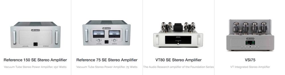 Audio Research erősítő