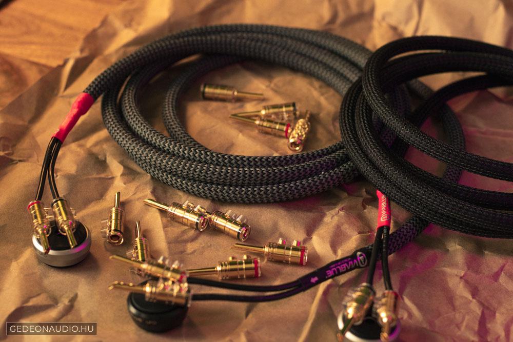 VIABLUE SC-2 hangfalkábel szerelt Gedeon kígyóbőr