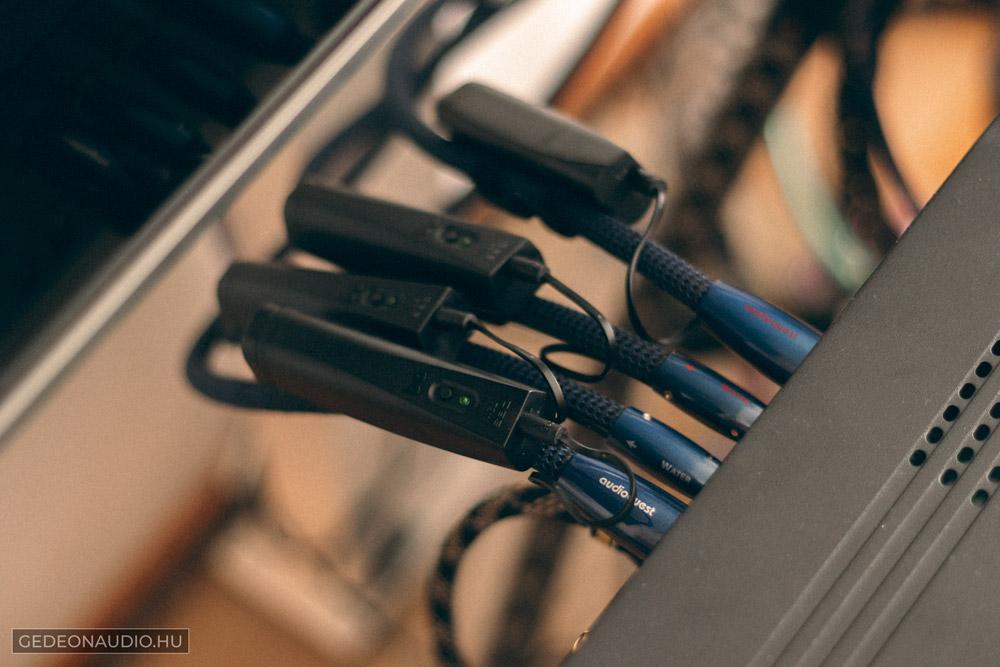 Audioquest Water összekötő kábel