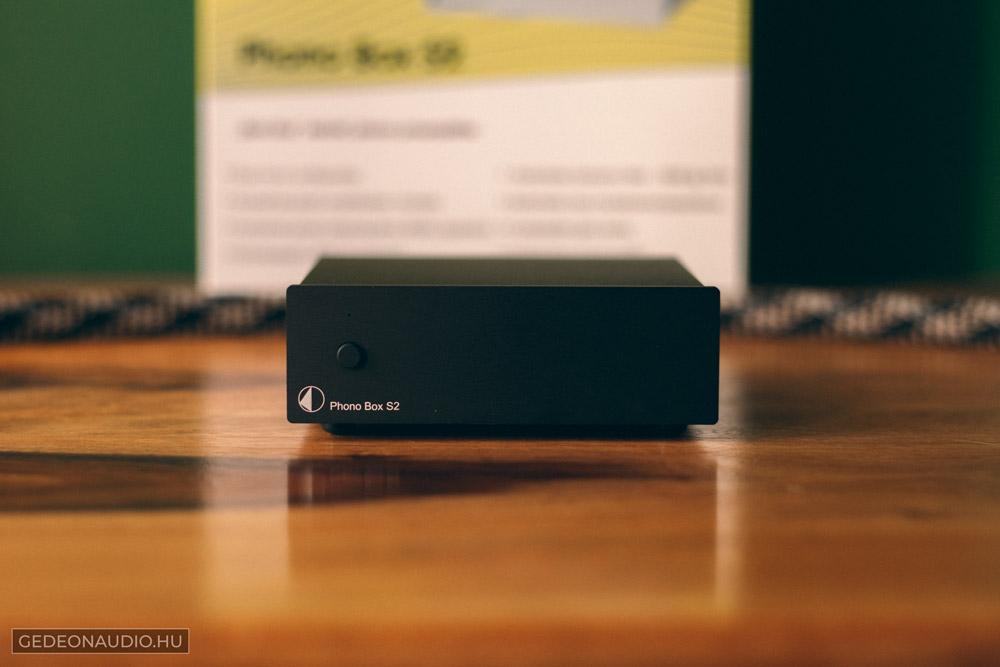 Pro-Ject Phono Box S2 előerősítő Gedeon