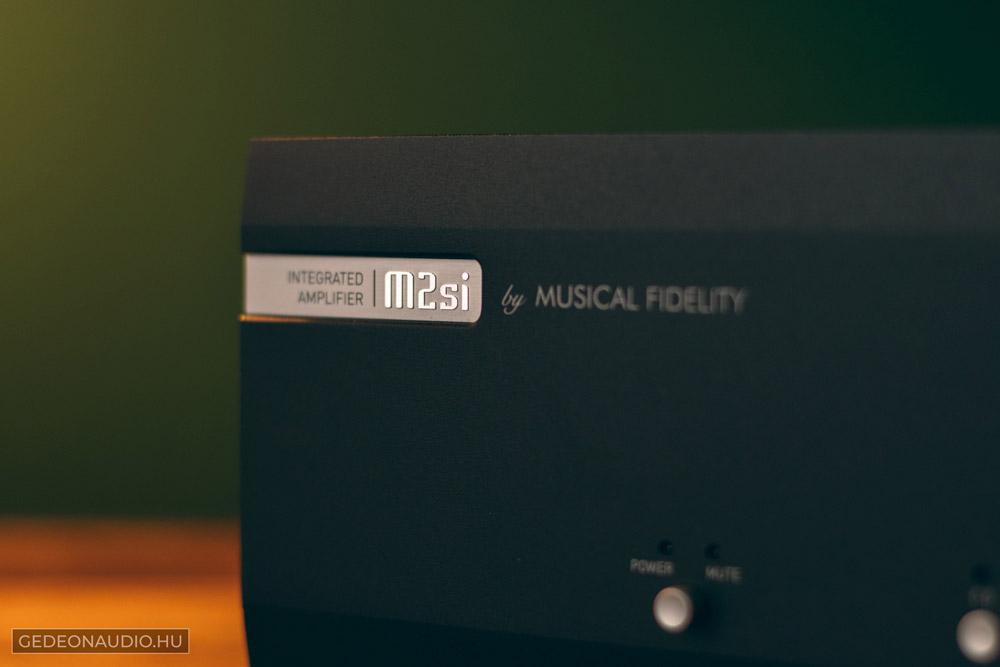 Musical Fidelity M2si erősítő teszt
