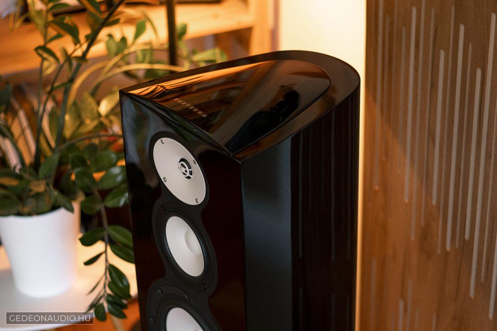 Mark Levinson 5805 erősítő és 5101 lejátszó teszt GedeonAudio.hu