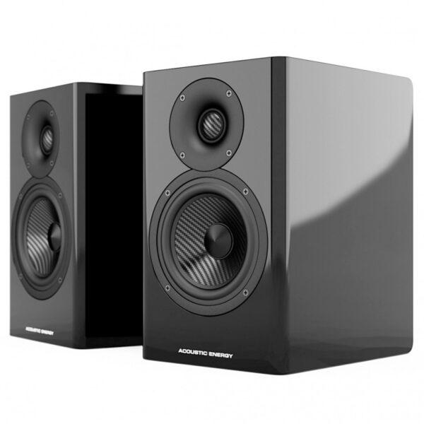 Acoustic Energy AE500 hangfal lakk fekete gedeonaudio.hu