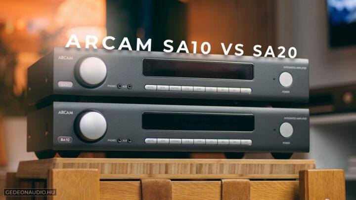 Arcam SA20 erősítő és Arcam SA10 erősítő