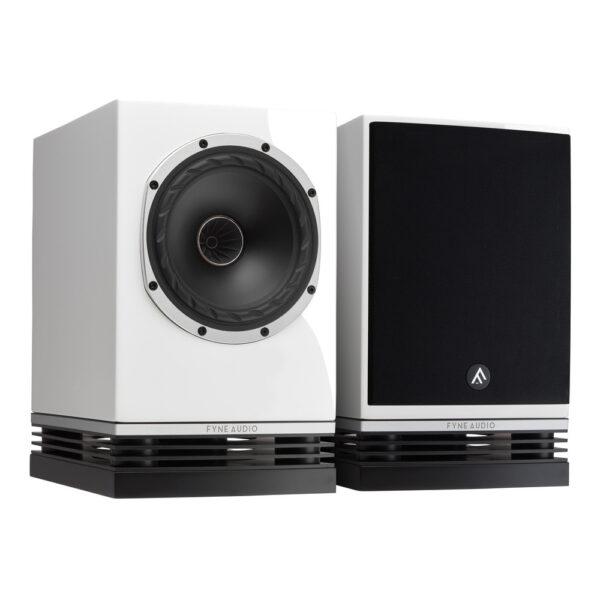 Fyne Audio F500 hangfal lakk fekete gedeonaudio.hu
