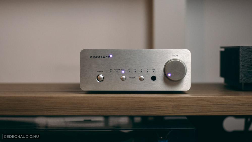 Exposure XM5 erősítő GedeonAudio