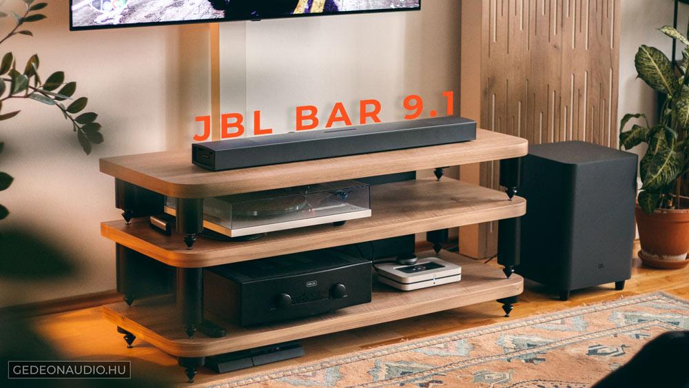 JBL Bar 9.1 hangprojektor teszt Gedeonaudio.hu