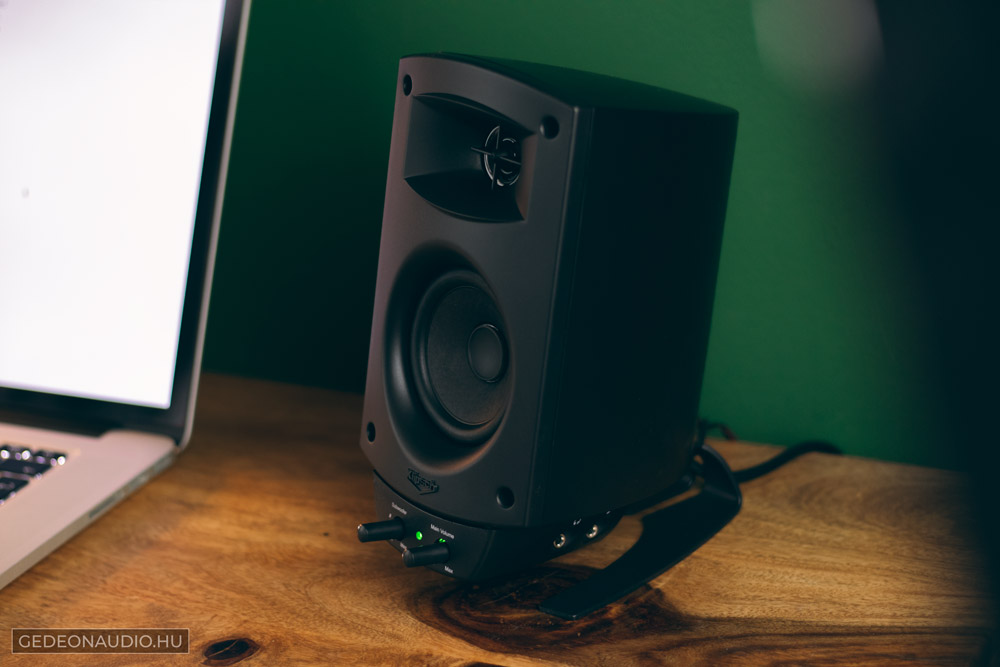 Klipsch ProMedia 2.1 BT hangfal teszt Gedeonaudio.hu