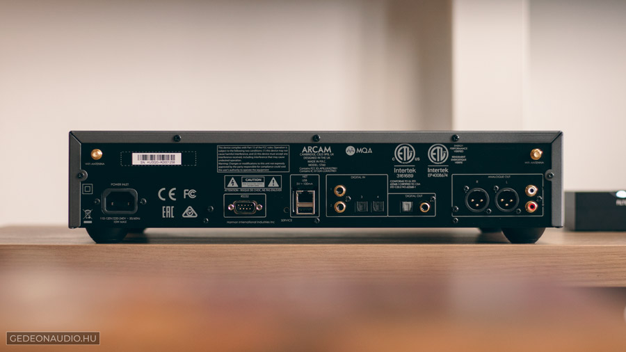 Arcam ST60 streamer teszt gedeonaudio.hu