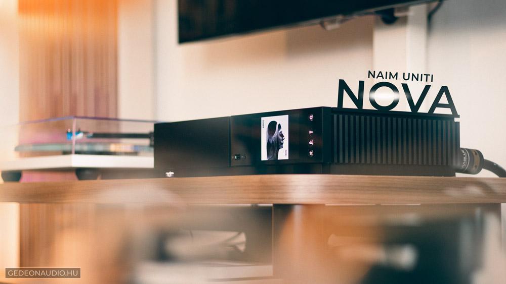 Naim Uniti Nova erősítő teszt – a jövő hifije?
