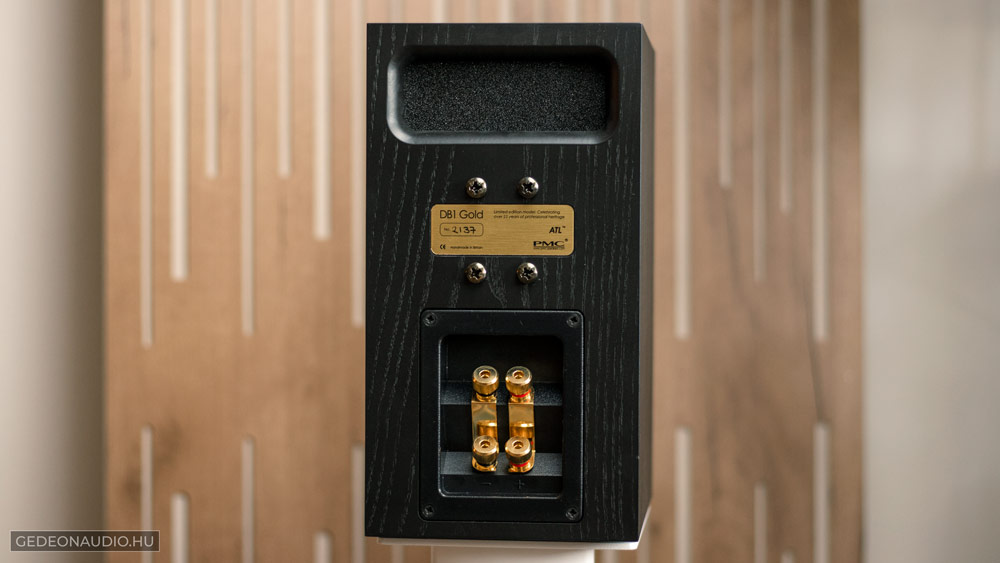 PMC DB1 Gold hangfal gedeonaudio.hu