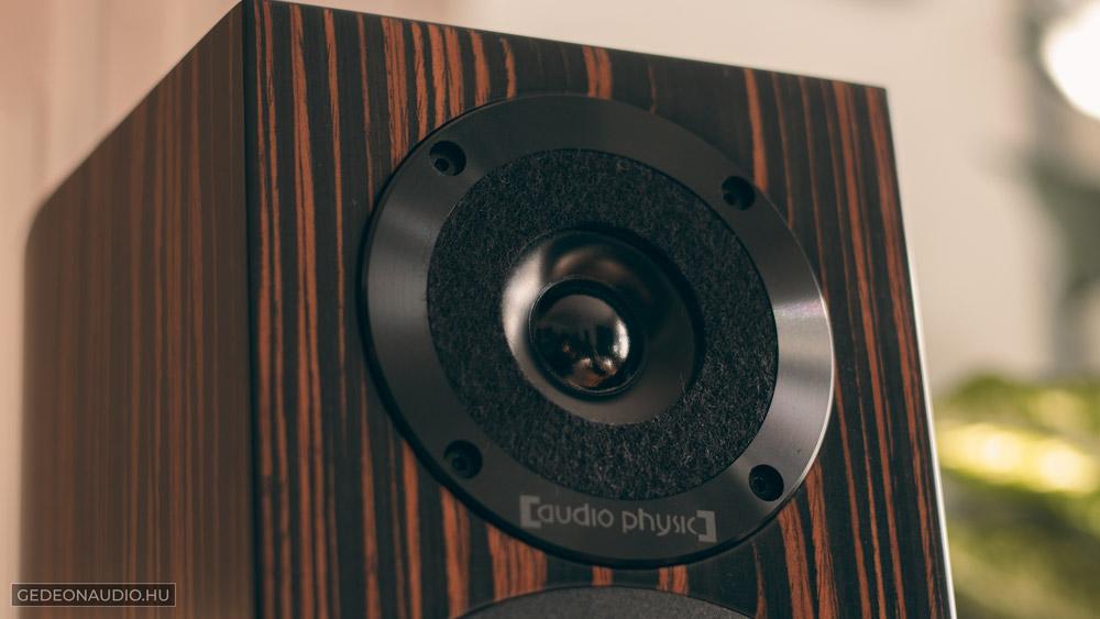 Audio Physic Step 35 hangfal teszt gedeonaudio