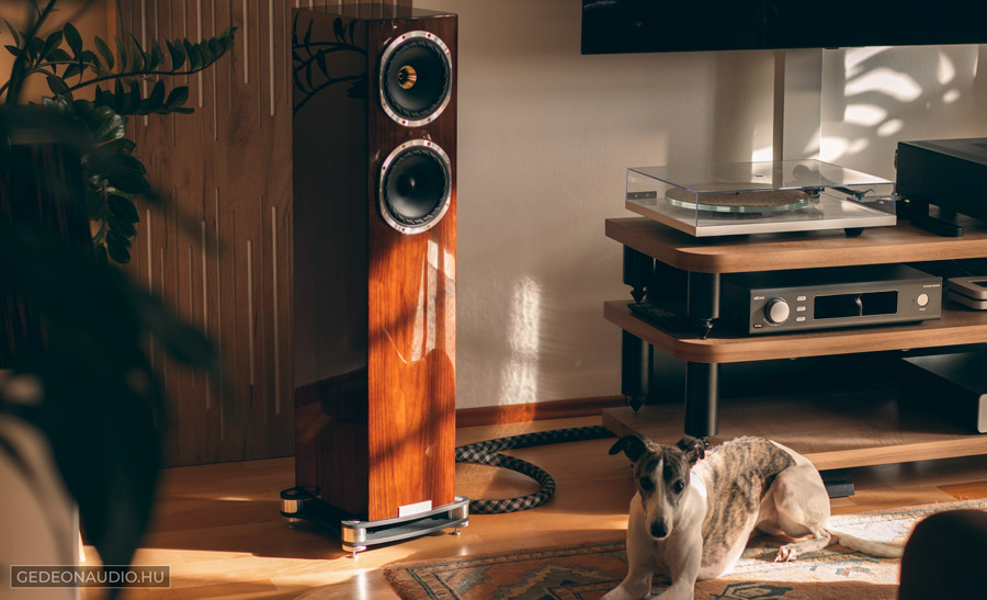 Fyne Audio F501SP hangfal teszt gedeonaudio.hu