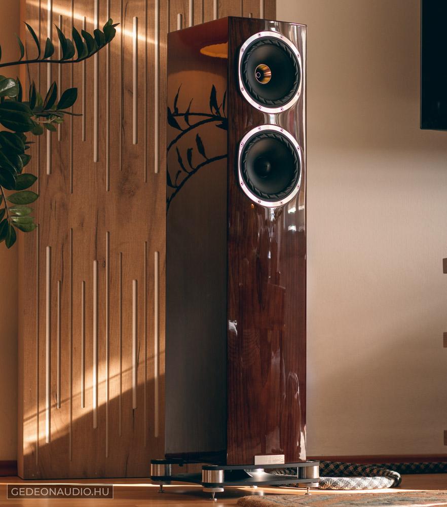 Fyne Audio F501SP hangfal teszt