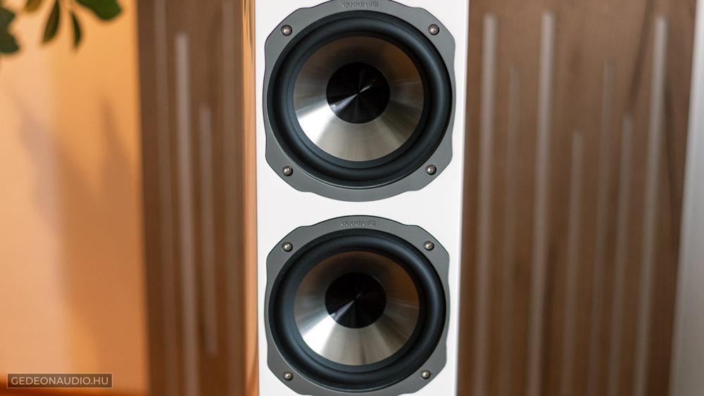 Quadral Chromium Style 6 hangfal teszt gedeonaudio.hu