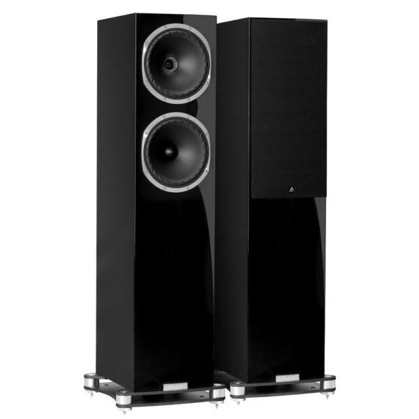 Fyne Audio F502SP hangfal lakk fekete Gedeon Studio