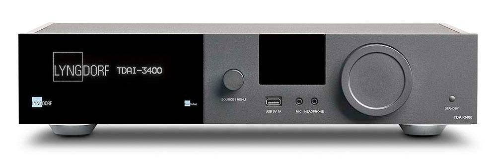Lyngdorf TDAI-3400 erősítő Gedeon Studio