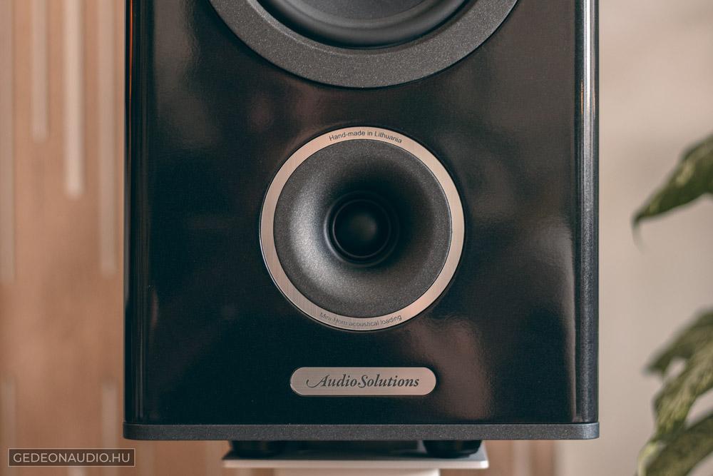 Audio Solutions Overture 322B hangfal teszt Gedeon Audio