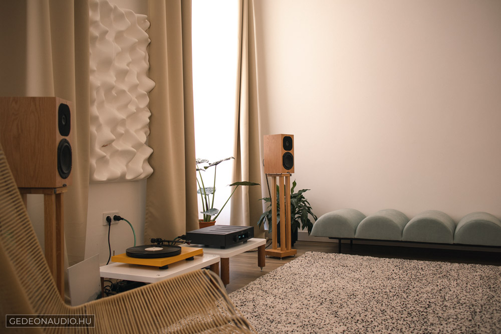 Neat Acoustics SX3 hangfal Gedeon Audio Teszt