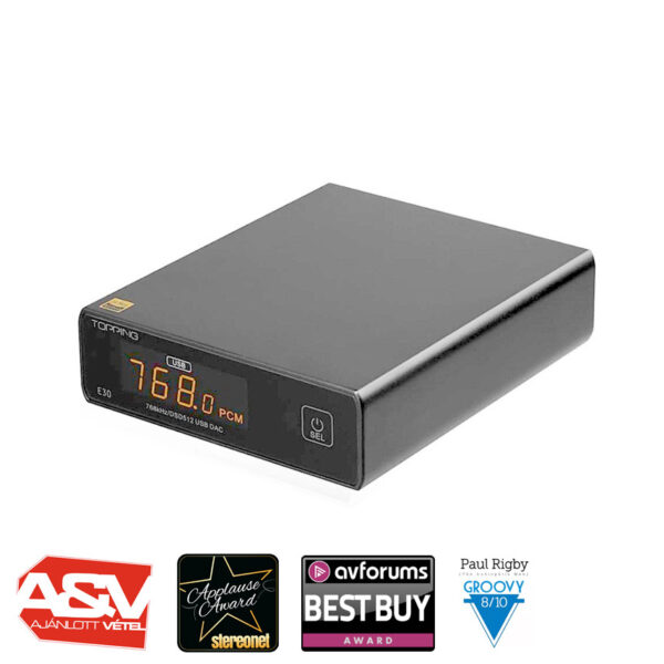 Topping E30 DAC konverter Gedeon Audio