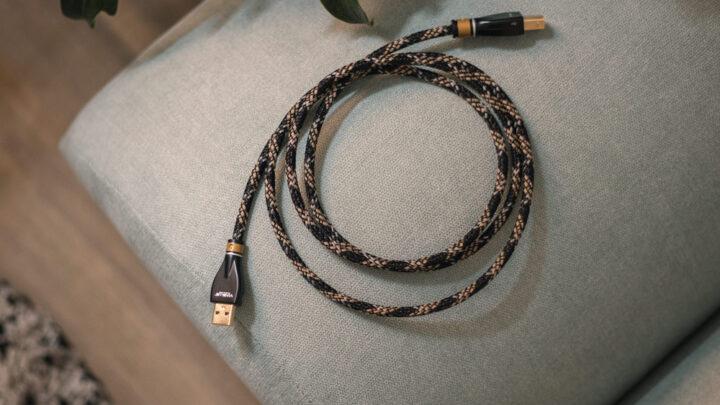 VIABLUE KR-2 USB A/B kábel Gedeon Audio