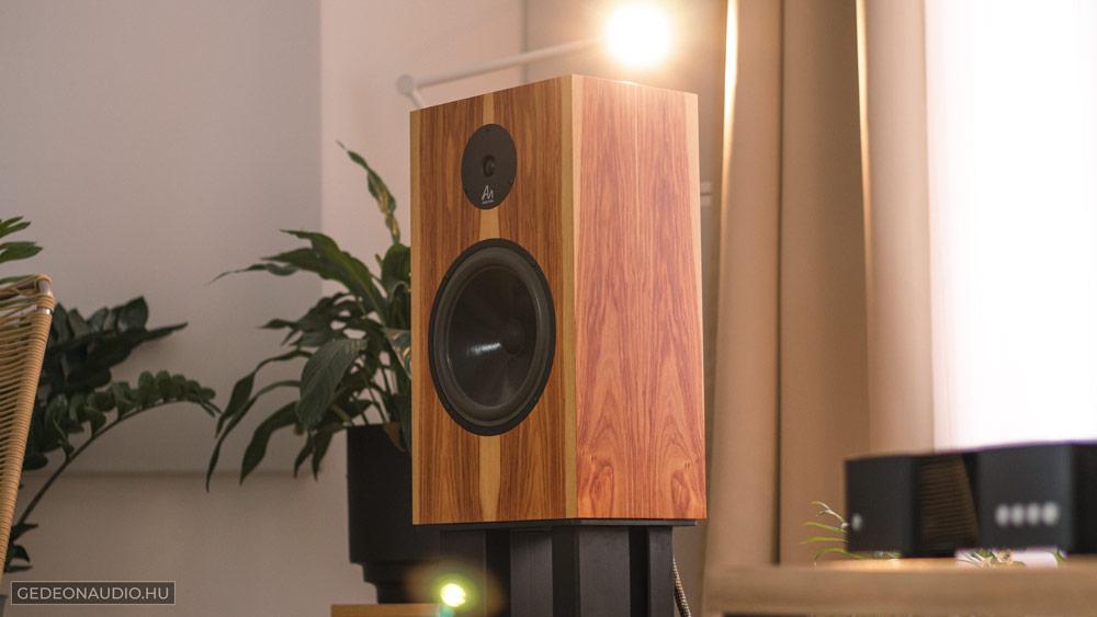 Audio Note AN-K hangfal teszt Gedeon Audio
