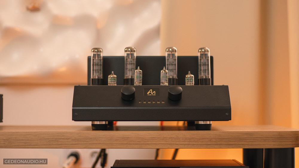 Audio Note Cobra csöves erősítő teszt Gedeon Audio