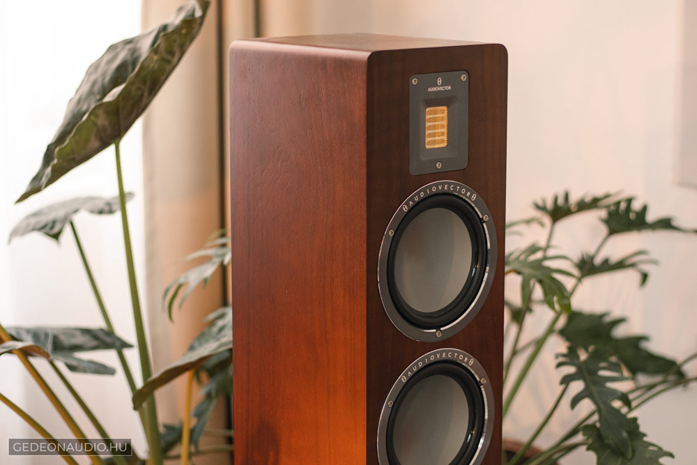 Audiovector QR3 hangfal teszt Gedeon Audio