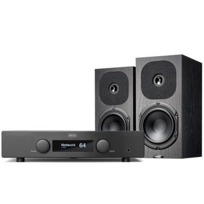 Hegel H95 erősítő és Neat Acoustics SX3 hangfal szett Gedeon Studio