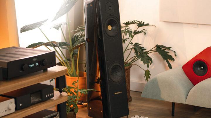 Sonus Faber Concerto Grand Piano hangfal Gedeon Audio