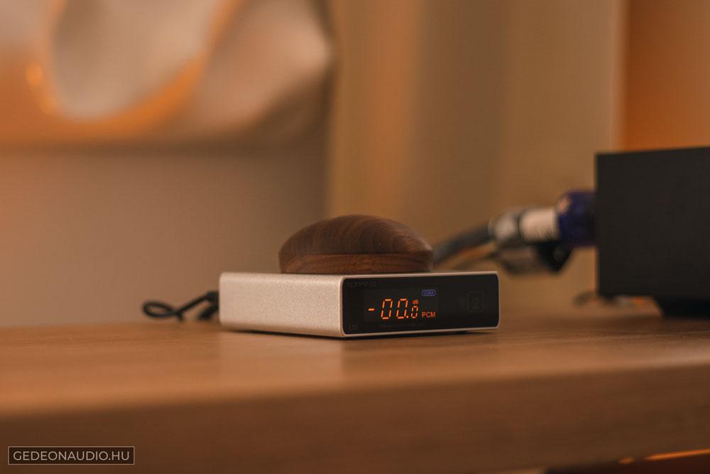 Topping E30 DAC teszt Gedeon Audio