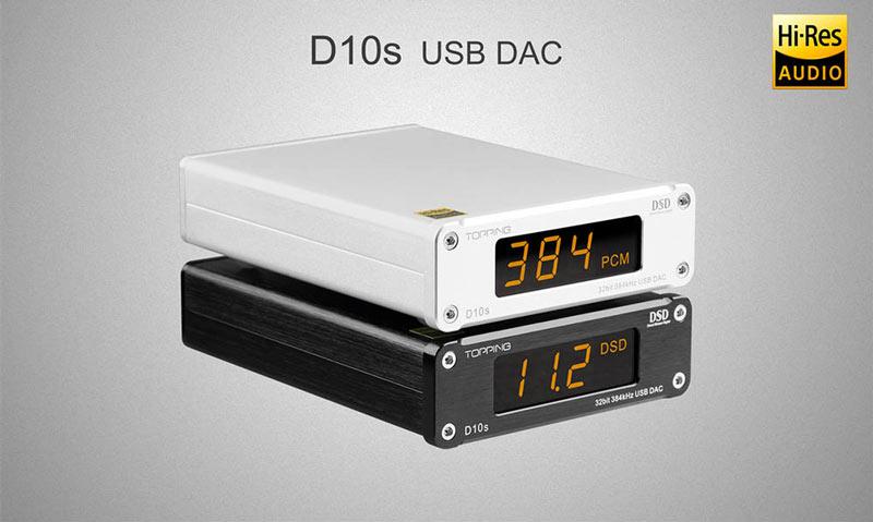 Topping D10S DAC Gedeon Studio