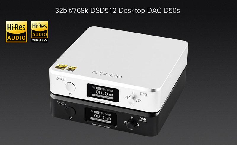 Topping D50S DAC Gedeon Studio