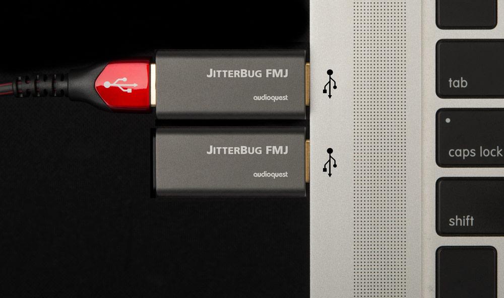 Audioquest Jitterbug FMJ zaljszűrő Gedeon Audio