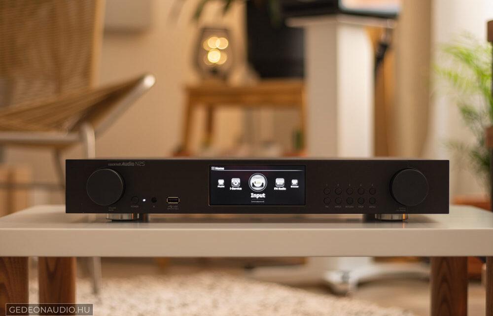 Cocktail Audio N25 streamer lejátszó teszt Gedeon Audio