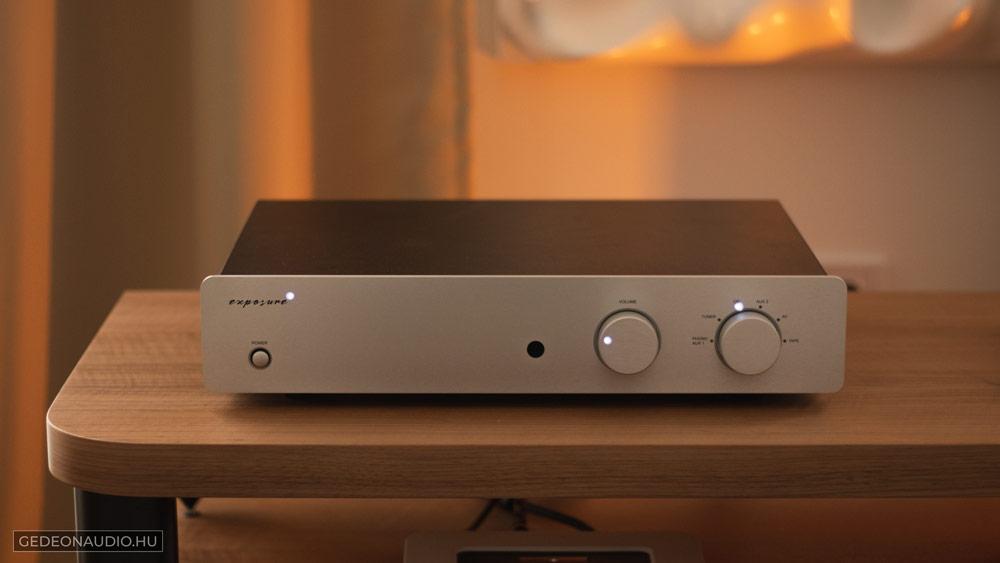 Exposure 2510 erősítő Gedeon Audio