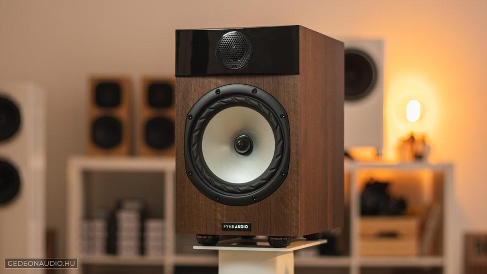 Fyne Audio F301 hangfal dió Gedeon Audio Studi