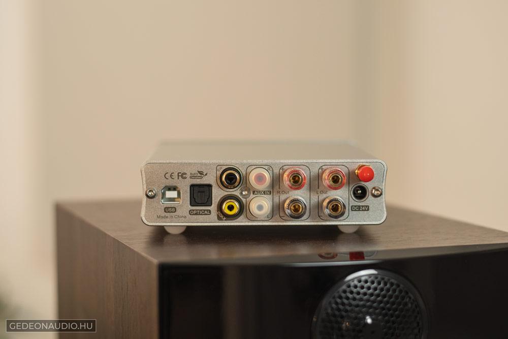 Topping MX3 erősítő teszt Gedeon Audio