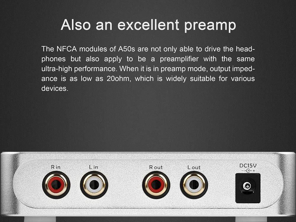 Topping A50S fejhallgató erősítő Gedeon Audio