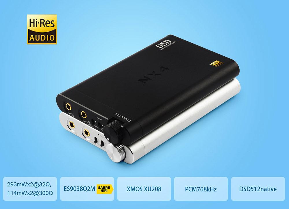 Topping NX4DSD fejhallgató erősítő Gedeon Audio