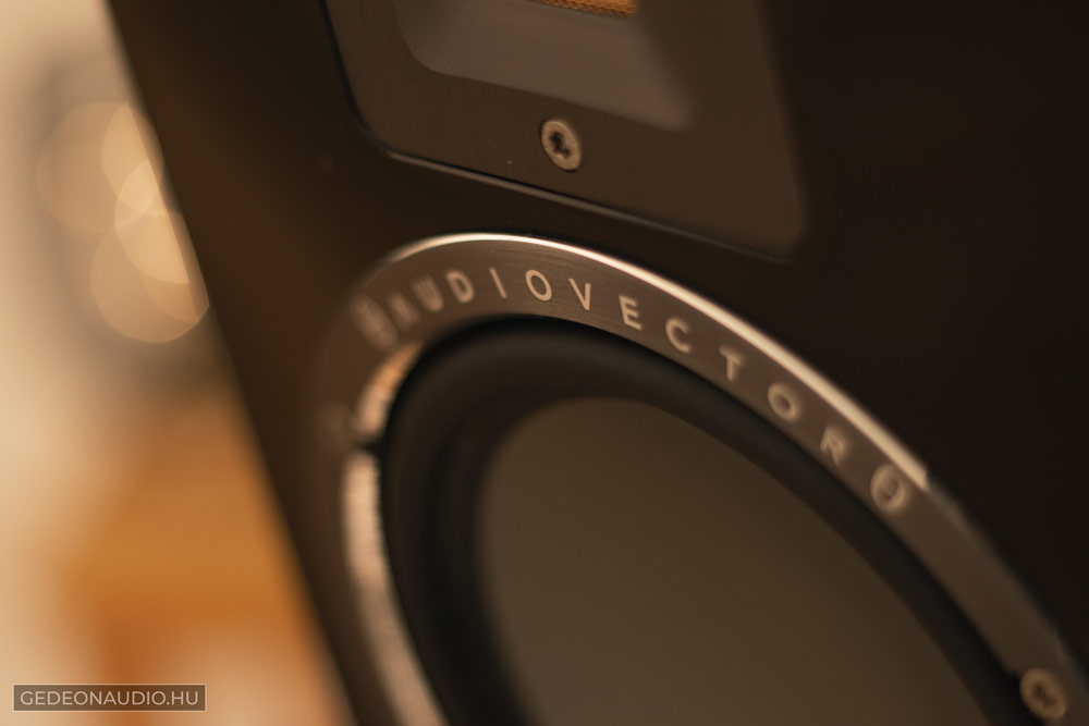 Audiovector QR1 hangfal teszt Gedeon Audio