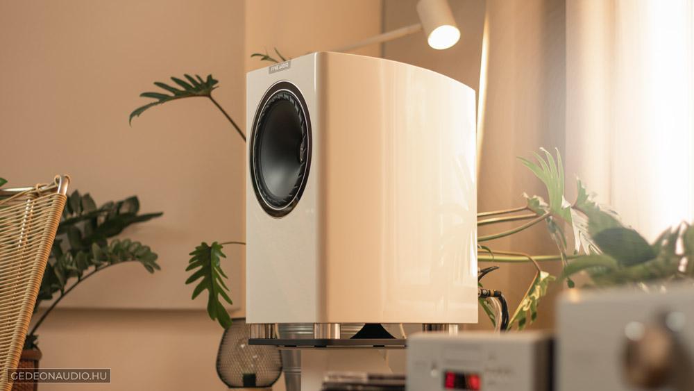 Fyne Audio F701 hangfal teszt