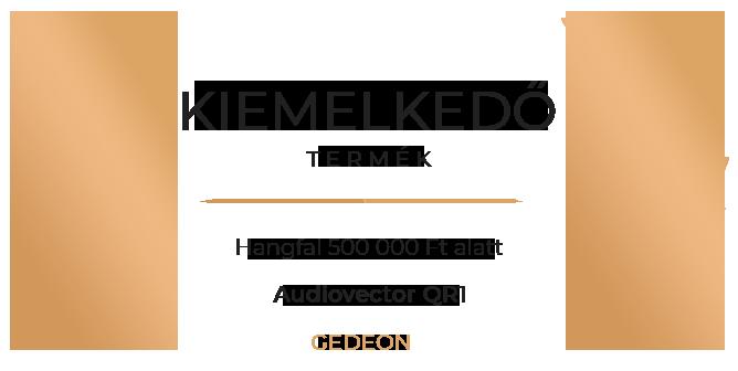 Audiovector QR1 hangfal Gedeon Díj