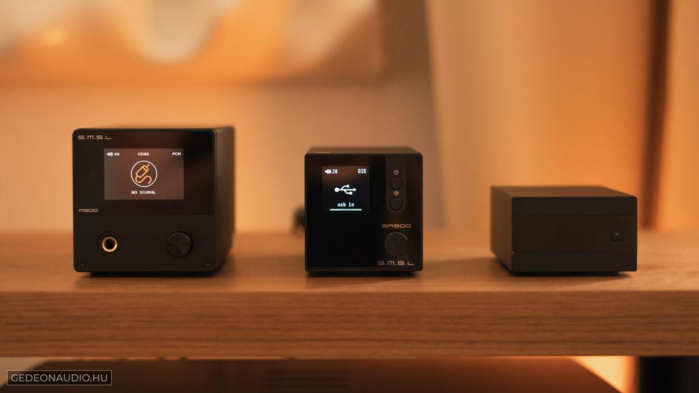 SMSL M500 és SA300 teszt Gedeon Audio
