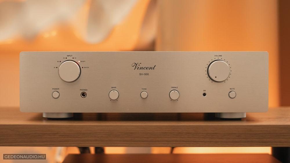 Vincent SV500 erősítő Gedeon Audio