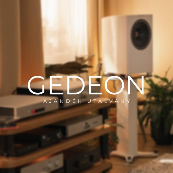 Ajándék utalvány Gedeon Audio