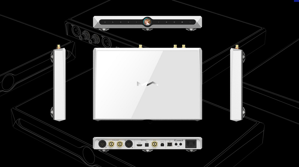 Matrix X-Sabre 3 streamer Gedeon Audio