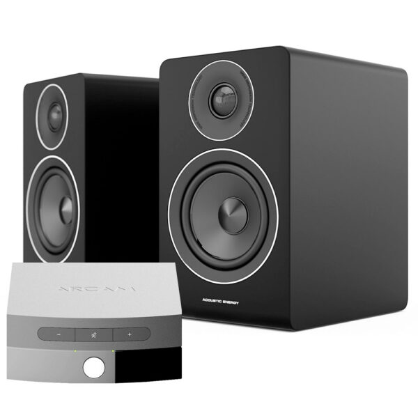 Acoustic Energy AE100 hangfal és Arcam Solo Uno erősítő Gedeon Audio