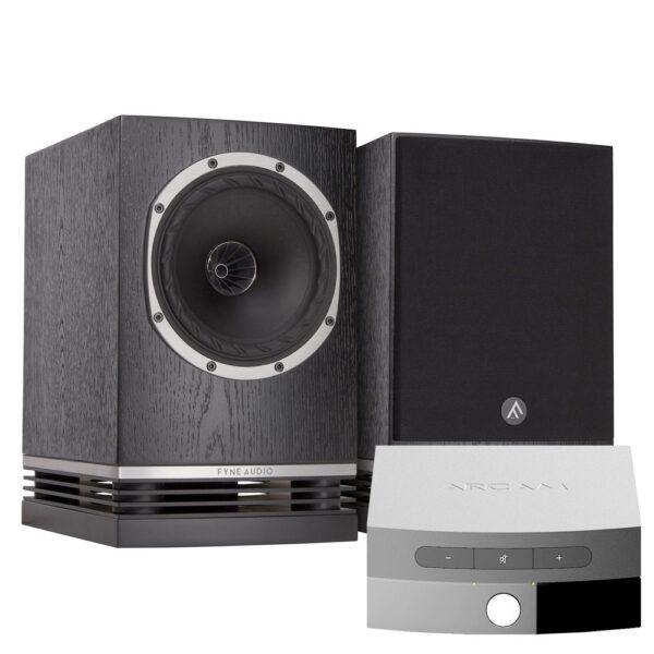 Fyne Audio F500 hangfal és Arcam Solo Uno erősítő szett Gedeon